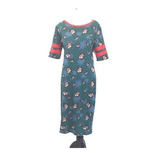 Lularoe Julia Floral Sheath Dress